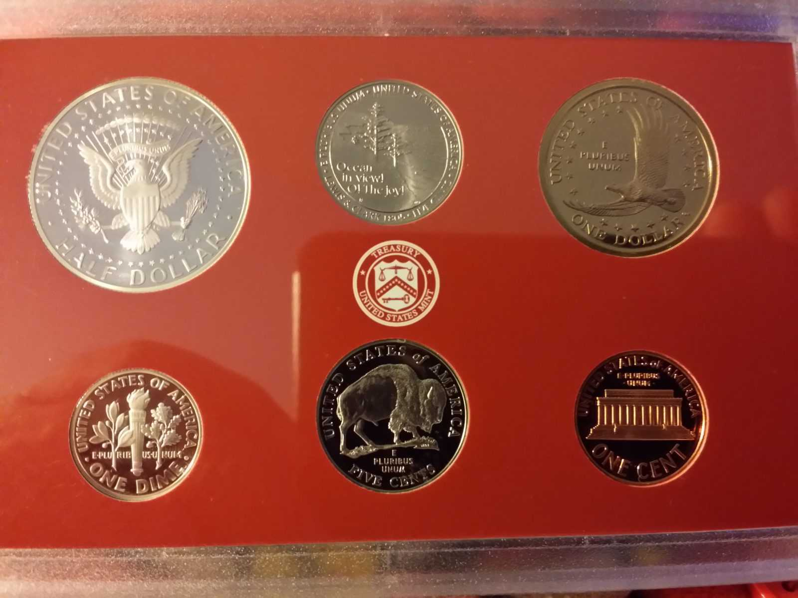 Coin Collection USA Edition  2005 Mint Silver Proof Set